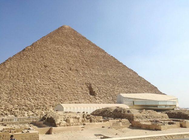 Egipt, Piramida Cheopsa, muzeum łodzi
