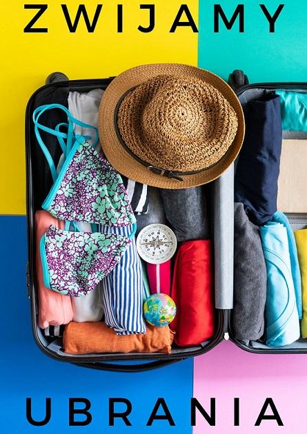 Pakowanie, ubrania, walizka
