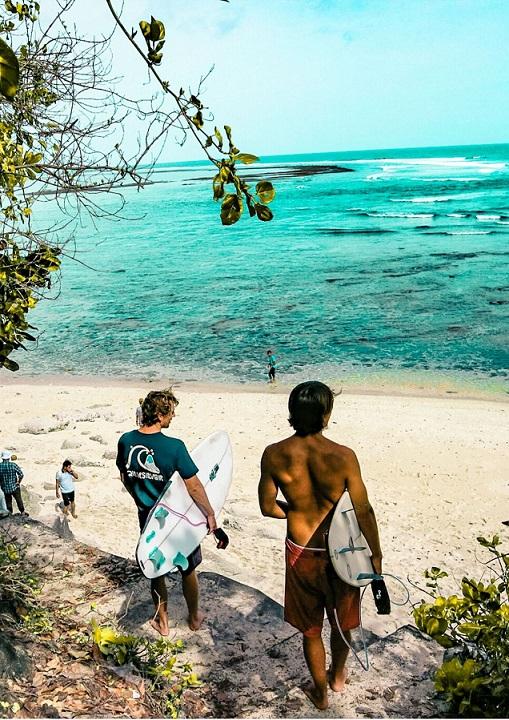 Surfing, plaża, sport