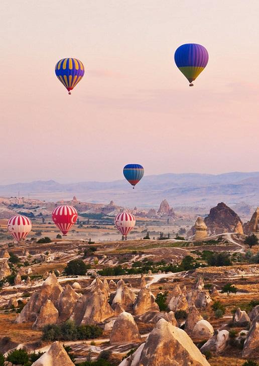 Turcja, Kapadocja, balony,