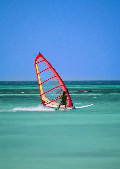 Sport na urlopie - windsurfing