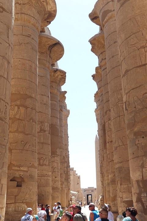 Egipt - zwiedzanie Karnaku