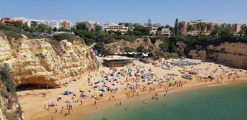 Algarve - Plaża de Nossa de Senhora da Rocha