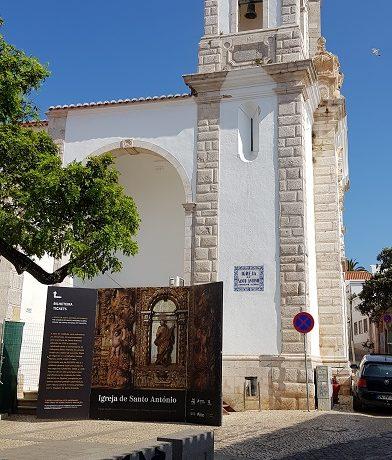 Lagos, Algarve, kościółęk