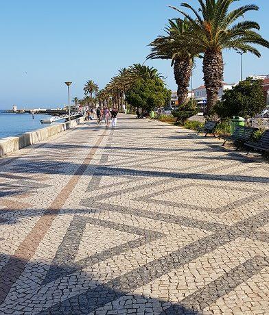 Lagos, Algarve, promenada,