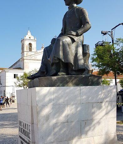 Lagos, Algarve, pomnik Henryka Żeglarza