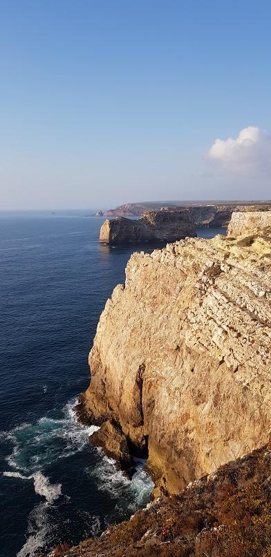 Algarve, klify