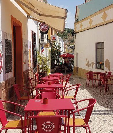 Silves, Algarve, Portugalia, kafejka
