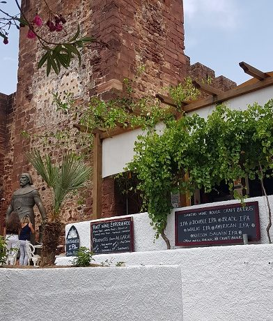 Silves, Algarve, Portugalia, zamek