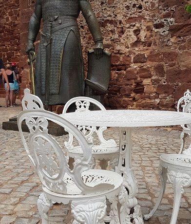 Silves, Algarve, zamek, rycerz