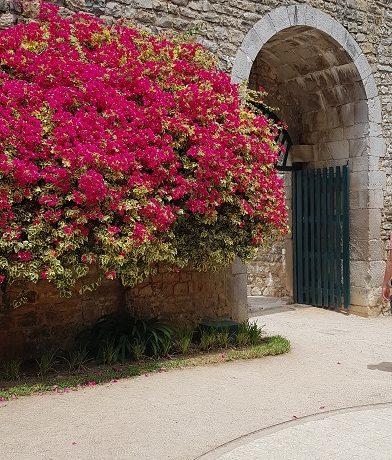 Tavira, Algarve, Portugalia, zamek