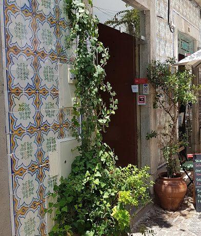 Tavira, Algarve, azulejo