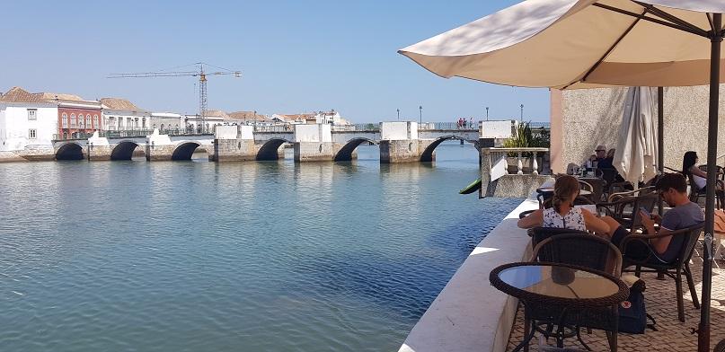 Tavira, Algarve, Portugalia, most Romański