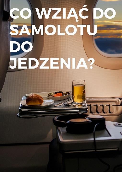 Jedzenie, samolot