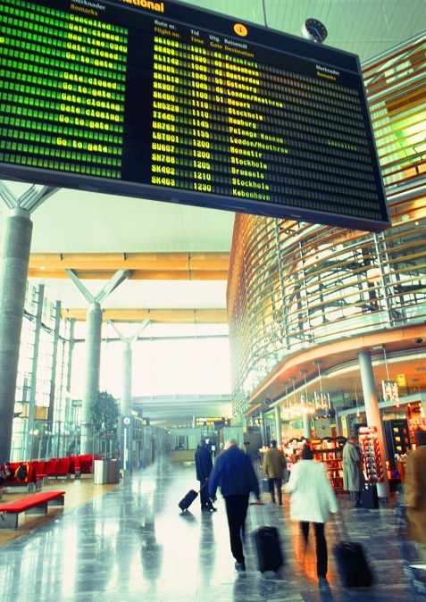 Odprawa, lotnisko