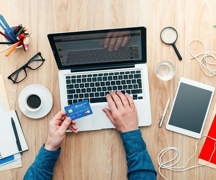 Odprawa online, komputer