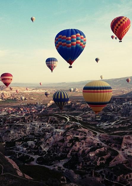 Turcja, balony, Cappadocia