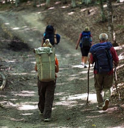 Góry, trekking, spacer