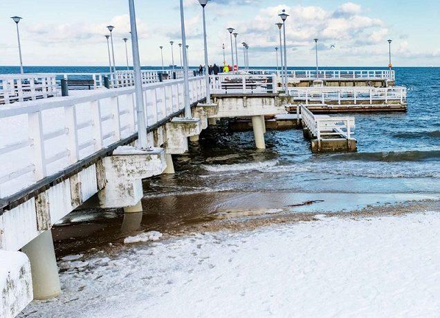 Nad morze zimą