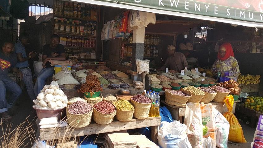 Zanzibar, przyprawy, targ