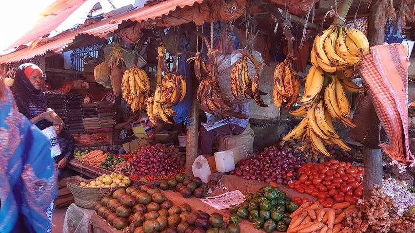 Zanzibar, Stone Town, targ