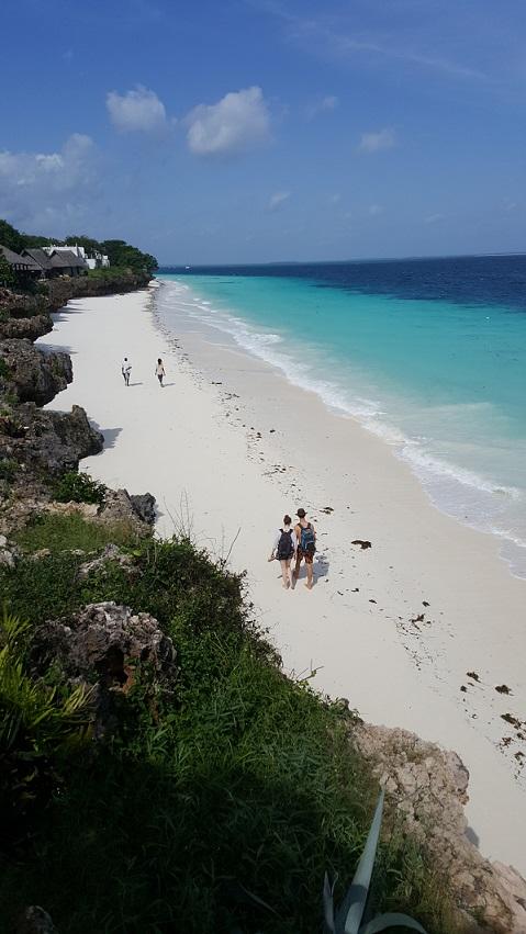 Zanzibar, plaża, Nungwi