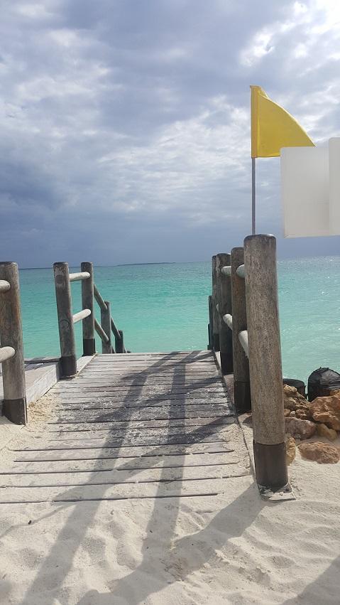 Zanzibar, ocean, podest