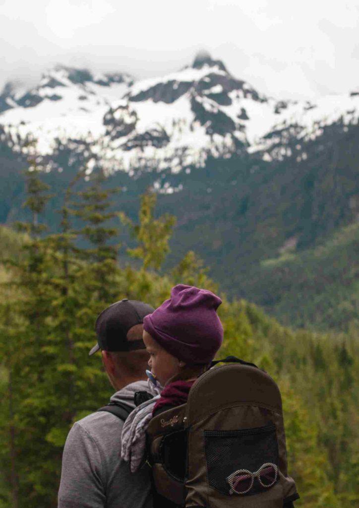 Góry, wycieczka, nosidełko turystyczne