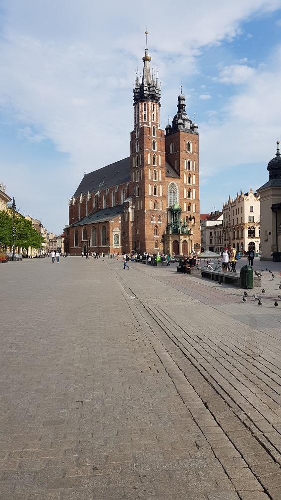 Kraków, Kościół Mariacki, Rynek Główny