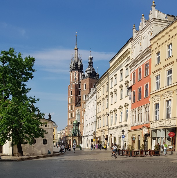 Rynek Główny, Kraków, kamienice