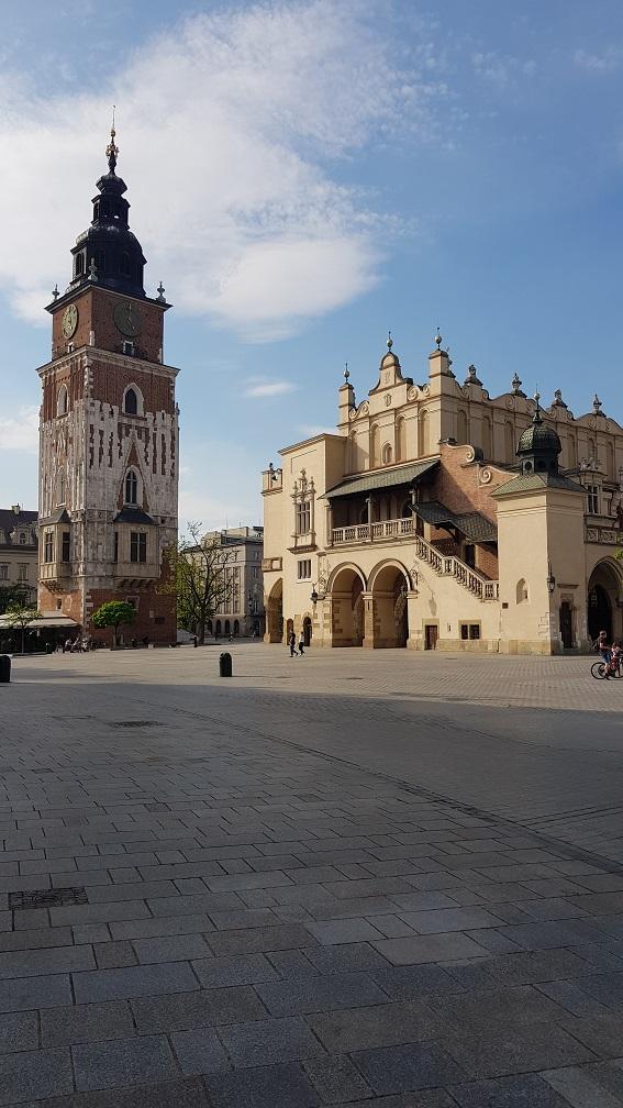 Wieża Ratuszowa, Kraków, Rynek, Sukiennice