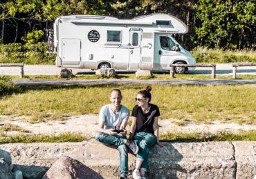 Podróż kamperem – nasz sposób na życie – wywiad z Familiaventura