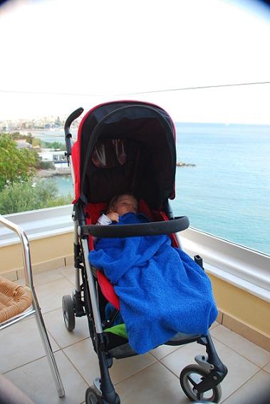 Wózek dla dziecka na wakacje
