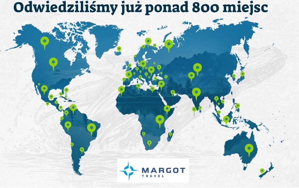 Mapa, Margot Travel