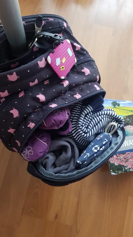 Plecak do szkoły i walizka - 2w1