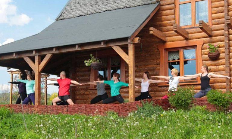Wyjazdy relaksacyjne w Bieszczady - joga, BodyArt - na weekend