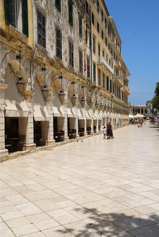 Korfu, Plac Spianada