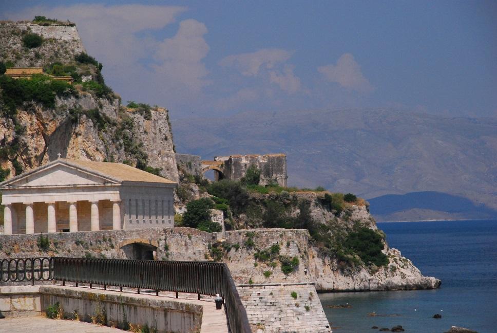 Korfu, Stara Forteca,