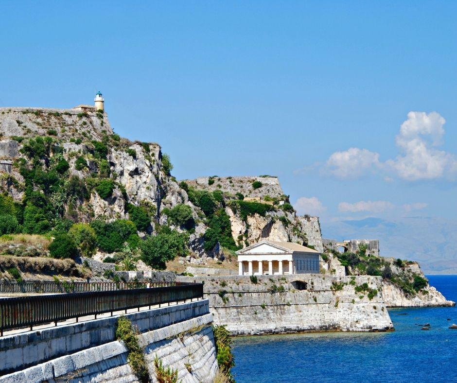 Korfu, Stara Forteca