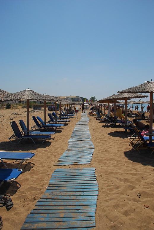 Korfu, piękna plaża