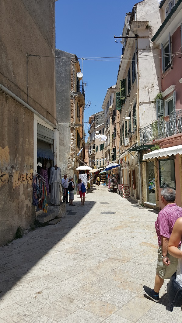 Korfu, Stare Miasto