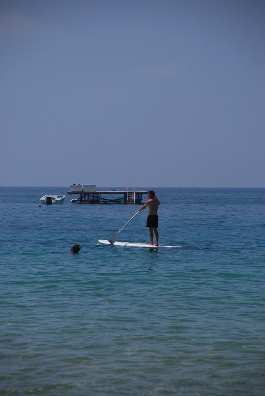 Korfu, morze, sporty wodne