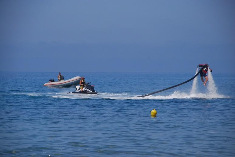 Korfu, sporty wodne,