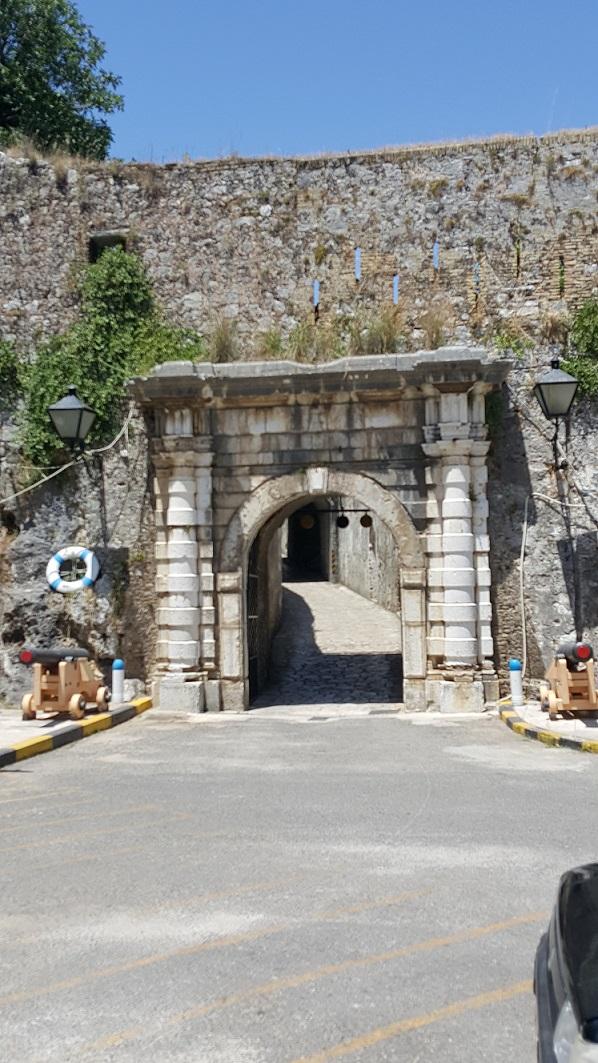 Korfu, Nowa Forteca