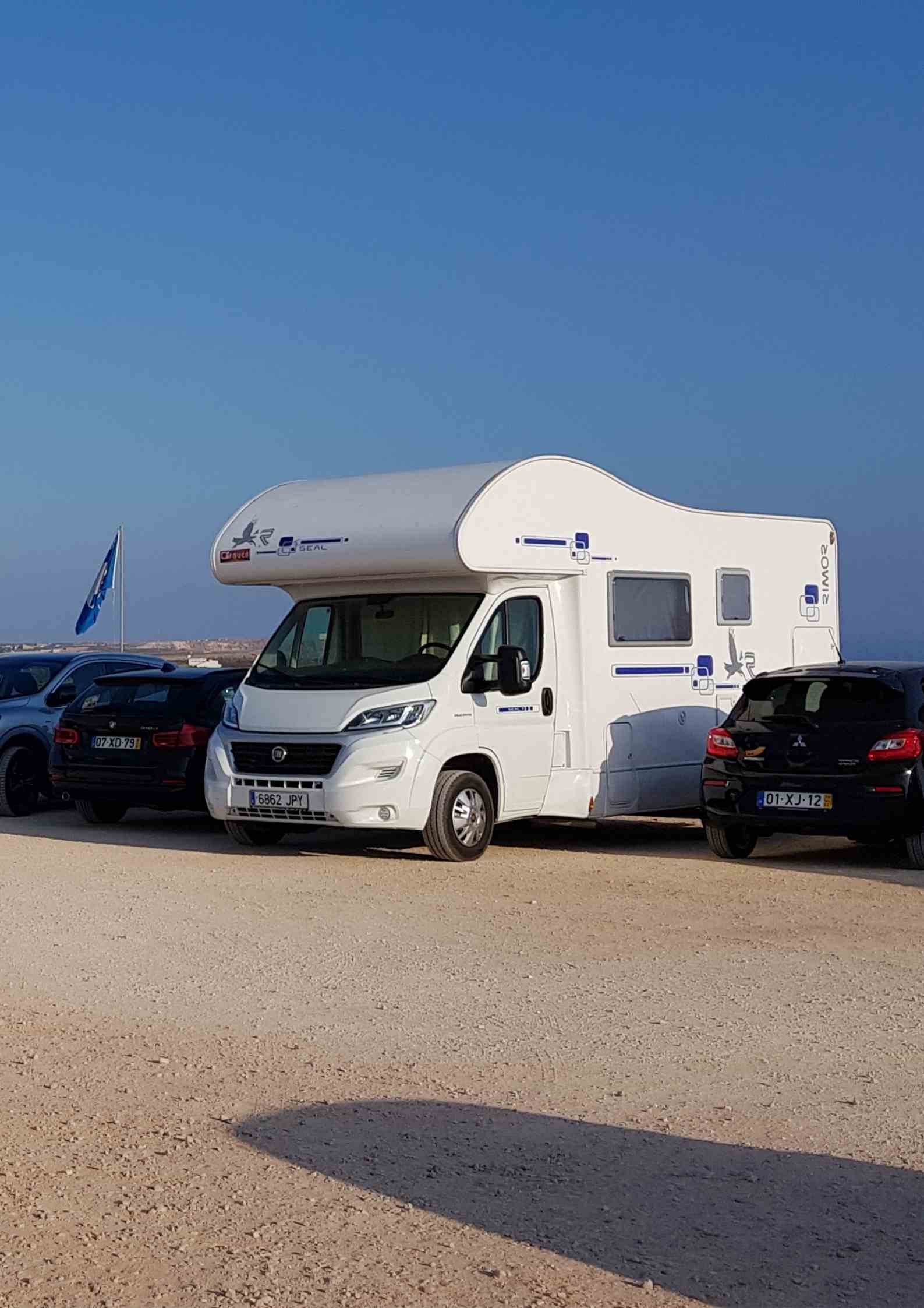 Pierwsza podróż kamperem - miejsca do parkowania