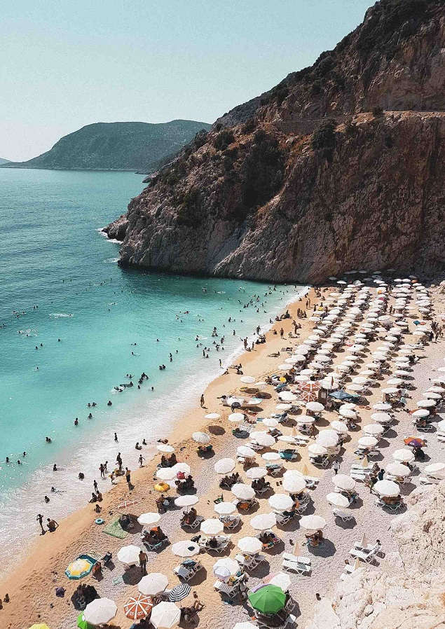 Turcja, Antalya, plaża